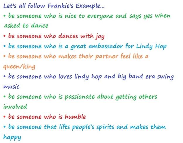 Frankie's example